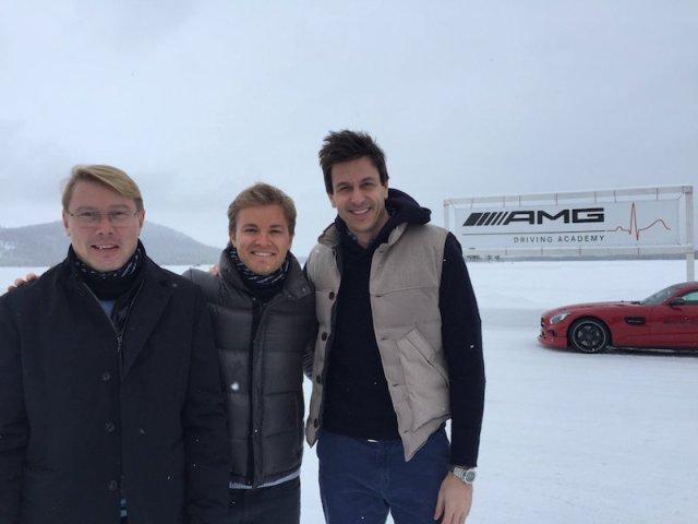 Rosberg Hakkinen Wolff