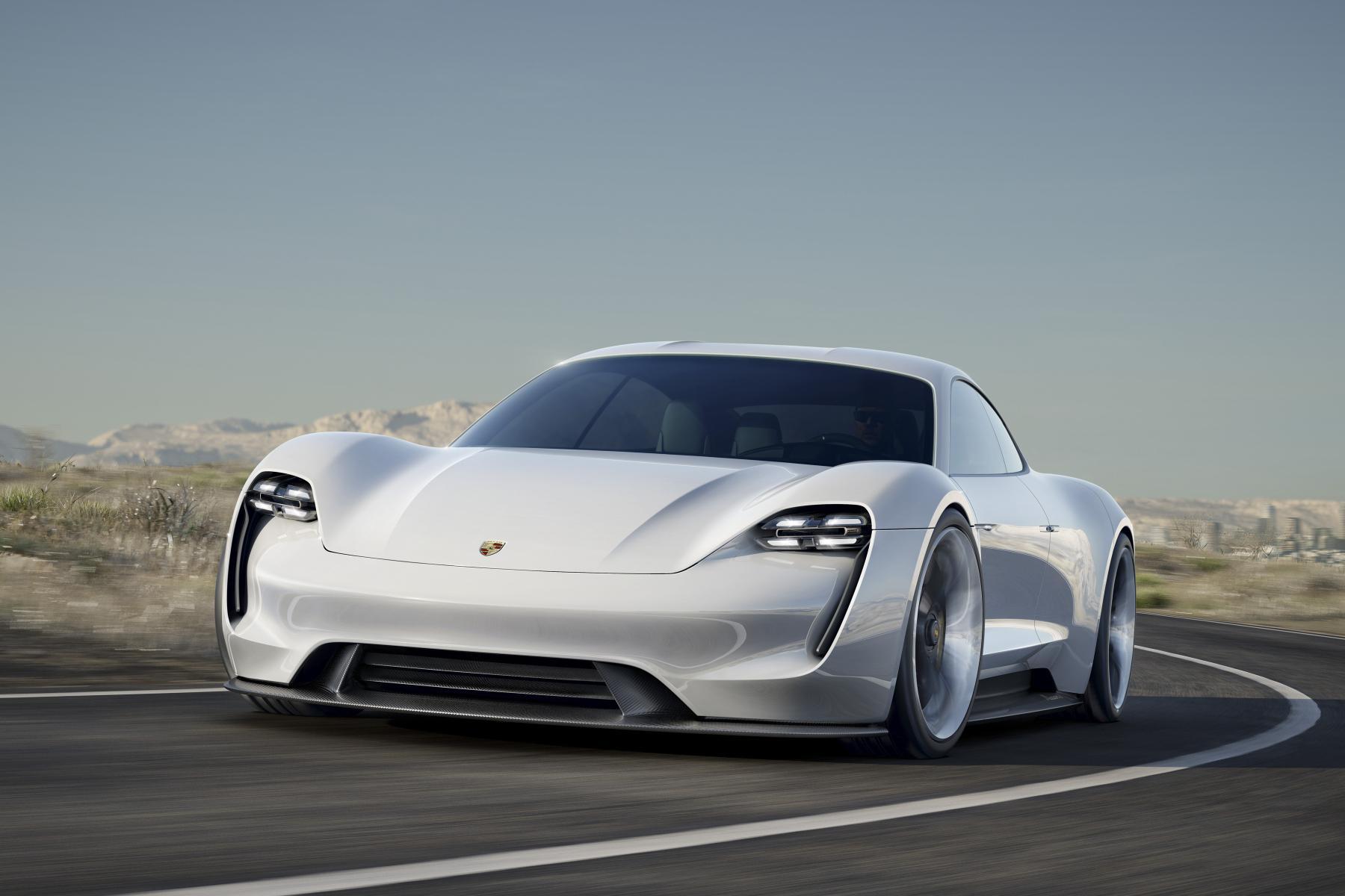 Porsche sports car concept- Mission E