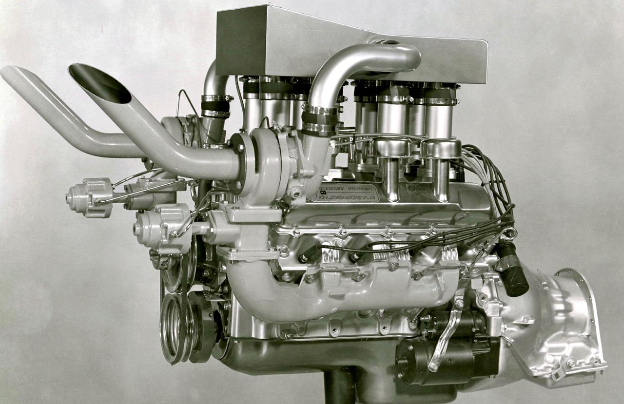 PROTOTYPE ENGINES: OLDSMOBILE 'ROCKET' SCIENCE!
