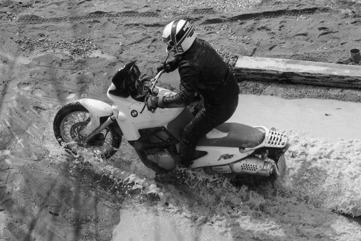 BMW Enduro Park Celebrates 25 Years Water on F650GS