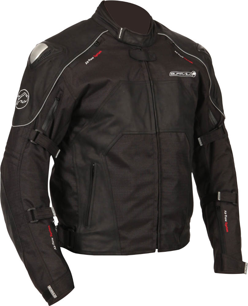New Buffalo Atom Textile Motorcycle Jacket Right Side