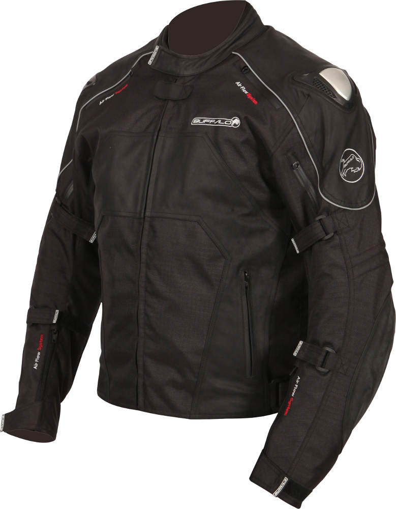 New Buffalo Atom Textile Motorcycle Jacket Left Side