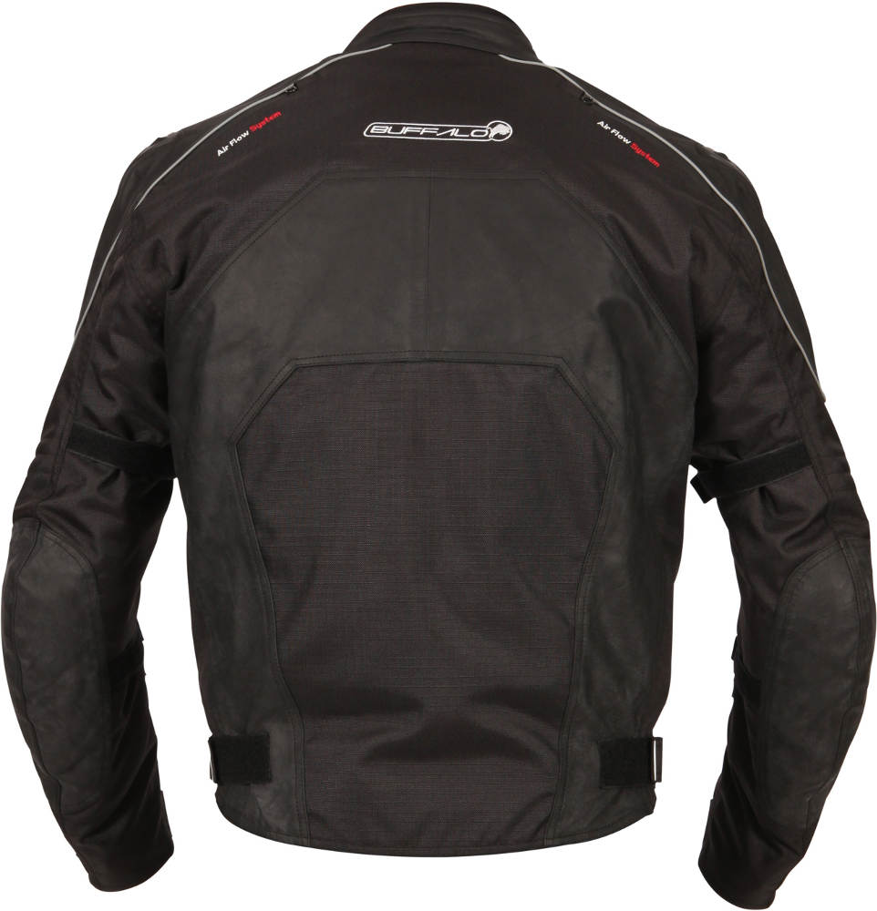 New Buffalo Atom Textile Motorcycle Jacket Back