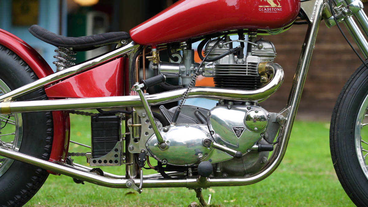 Gladstone Motorcycles SE Triumph T120R Engine
