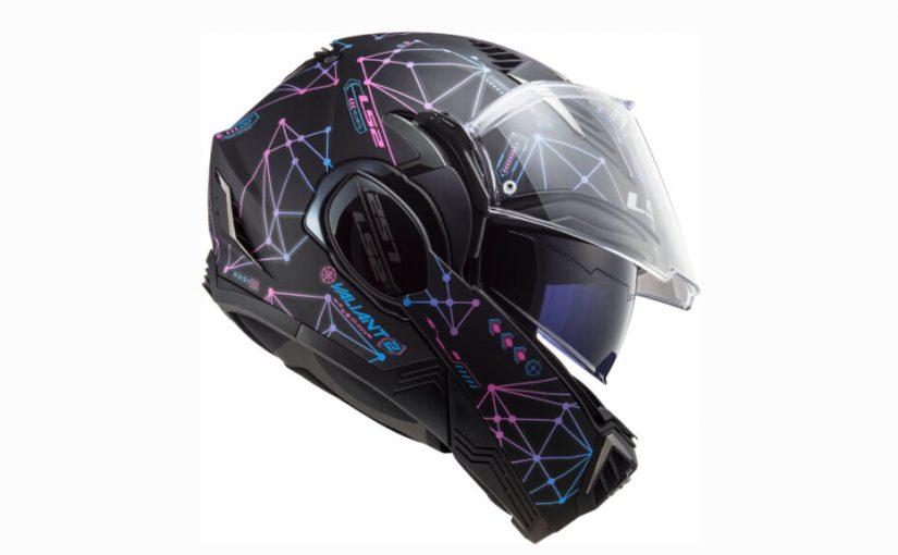 LS2 Valiant II Flip-Front Helmet Gets New Designs for 2021