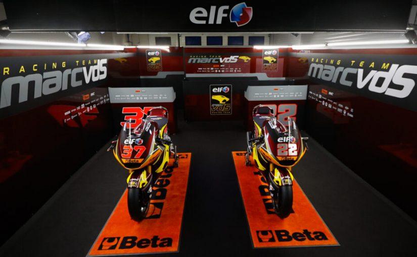 2021 Elf Marc VDS Moto2 Team Unveiled