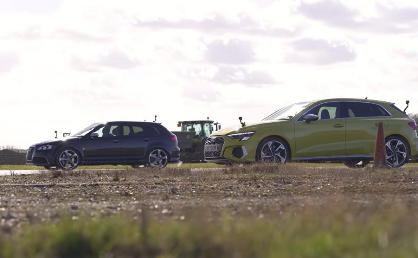 Salvage RS 3 vs Showroom S3 Duel Upon the Runway of Time