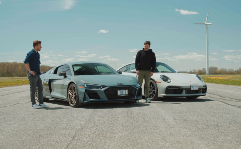 Audi R8 V10 Decennium vs. 2021 Porsche 911 Turbo S