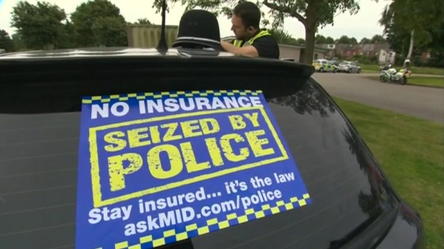 When can your car be seized by the authorities?