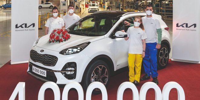 Kia's European factory reaches major milestone