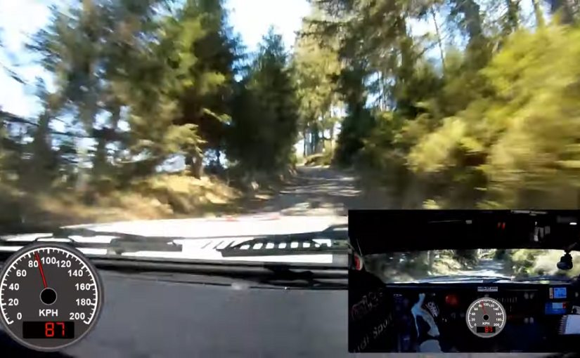 Rocket Through the Trees: Onboard an Audi quattro S1