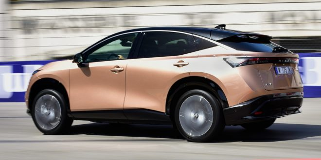 Nissan Ariya laps up the Monte Carlo attention