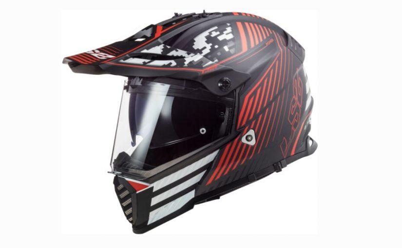 New 2021 Graphics For The LS2 Pioneer Evo Helmet