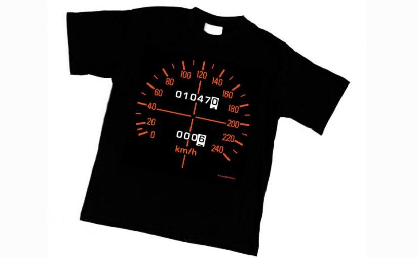 New Honda CBX1000 Speedometer Shirt Released
