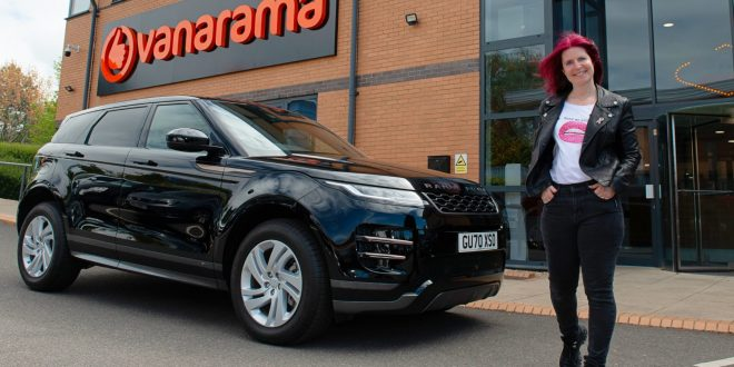 Charity worker wins a Range Rover Evoque