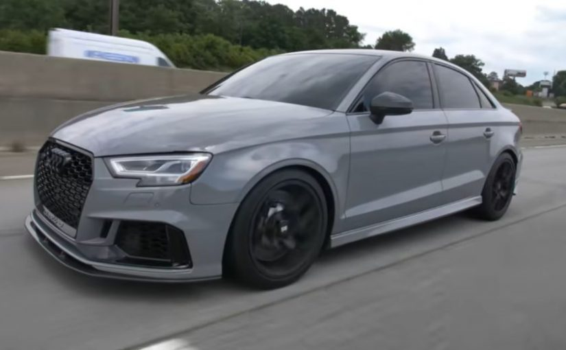 Video: An 800HP RS3 May Be the Perfect Audi