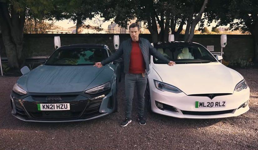 VIDEO: Audi RS e-tron GT vs Tesla Model S