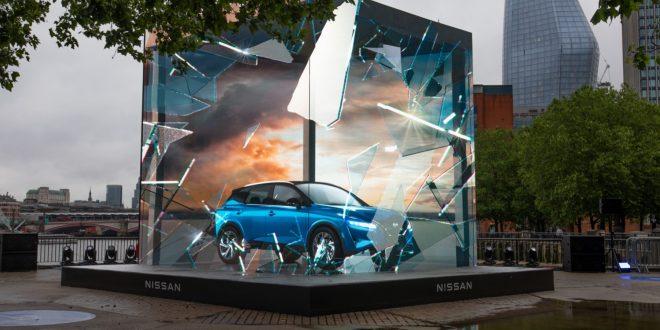New Nissan Qashqai's shattering launch statement
