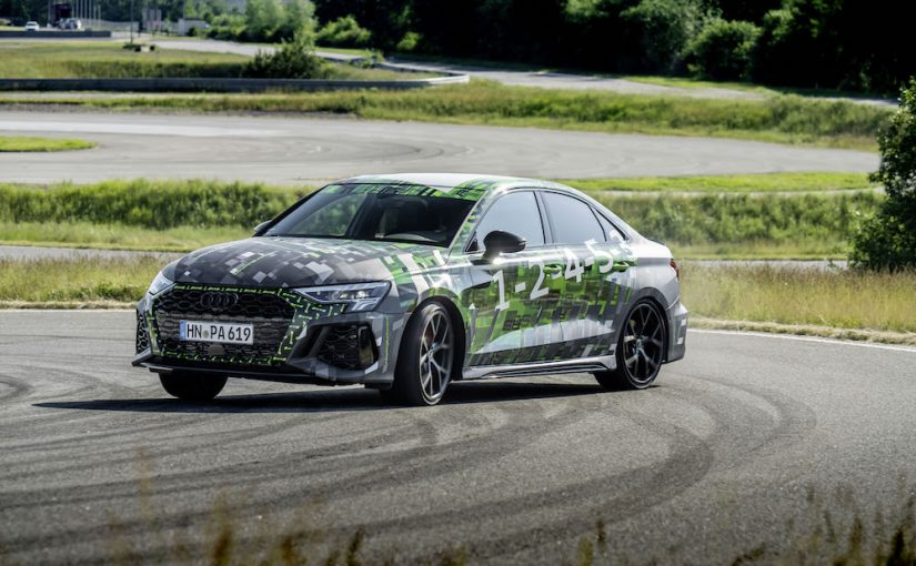 Audi Debuts RS Torque Splitter on 2022 RS 3 (& There's Drift Mode!)