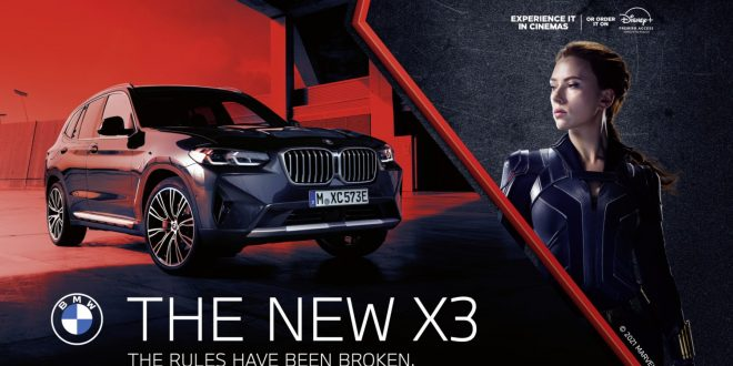 BMWs star in Marvel's upcoming Black Widow