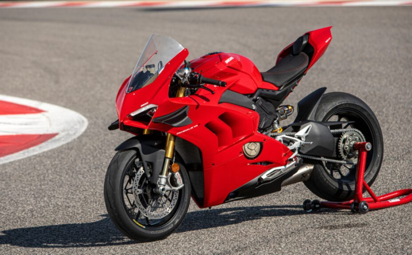 Ducati Performance Panigale V4 S Accessories Showcased