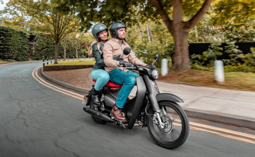 2022 Honda Super Cub 125 Gets Euro 5 and Pillion Upgrades