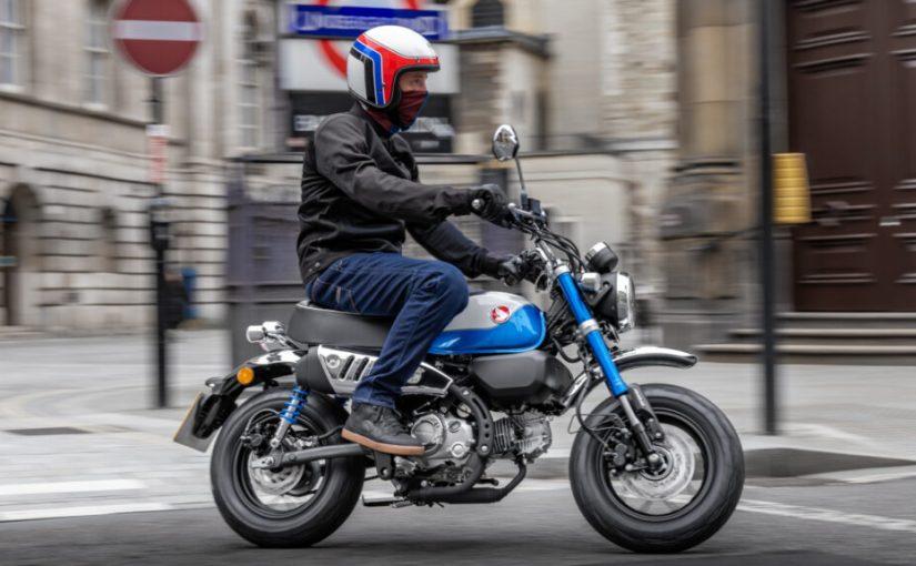 The 2022 Honda Monkey 125 Gets A Euro 5 Compliant Engine