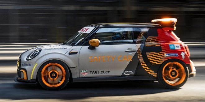UK debut for MINI Electric Pacesetter