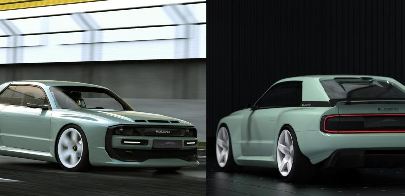 805 HP E-Legend EL1 is an Audi Quattro-Inspired Super EV