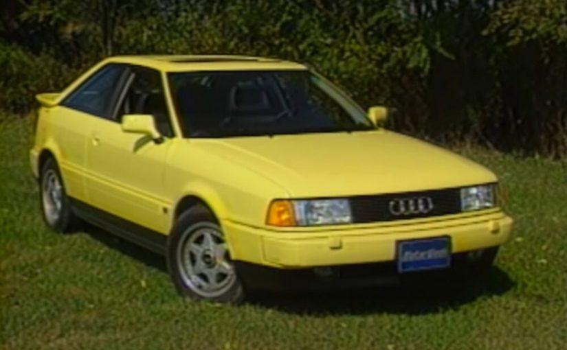 You've Come a Long Way, Audi: Coupe Quattro Retro Review