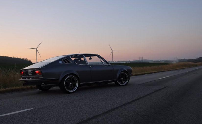 Stunning Audi Coupe S/GT Heats Up the Swedish Landscape