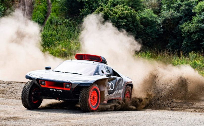 Exciting Experiment: The Audi RS Q e-tron is Heading to Dakar