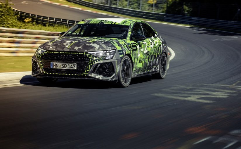 2022 Audi RS 3 Snatches Nürburgring Class Record from Renault