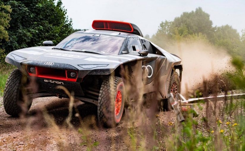 RSQ E-Tron is Audi's 671-HP Offroad Racer