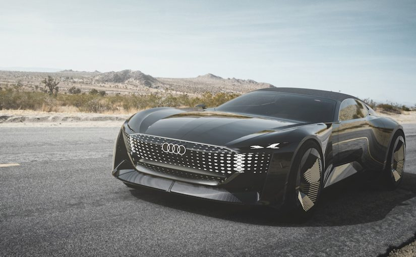 Audi Skysphere Concept Revealed — Perfect Vehicle for 'Knight Rider' Reboot?