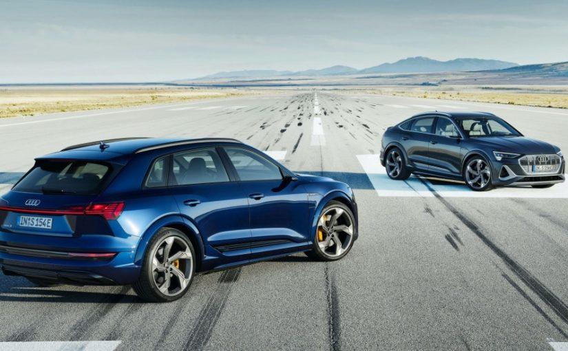 Audi e-tron S & e-tron S Sportback Will Debut This Fall