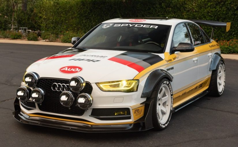Former SEMA Quattro Tribute S4 Steals the Show on the Road