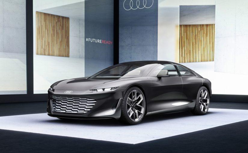 Audi Grandsphere Debuts at IAA 2021