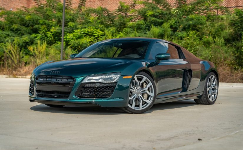 One-of-One Emerald Green Mica Audi R8 V10 Needs a New Home!