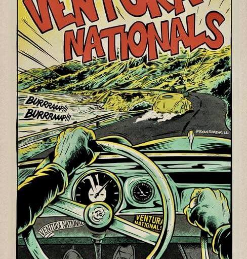 VENTURA NATIONALS: RODS, CUSTOMS, BIKES & GUITARS!