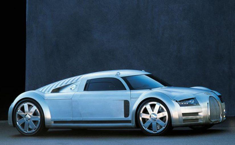 Project Rosemeyer Was Audi's 8.0-liter 700BHP Supercar