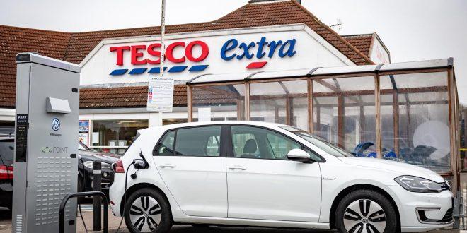Tesco named best supermarket for EV owners