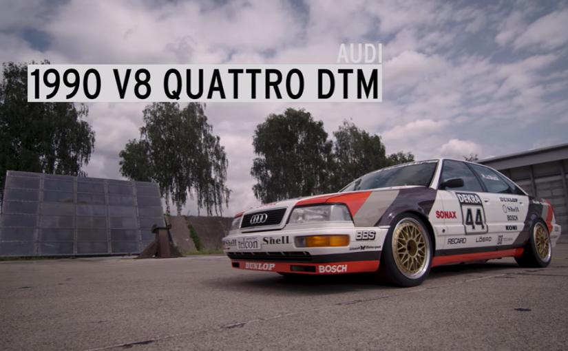 Ken Block Hoons Audi V8 DTM Car & the e-tron Vision GT!