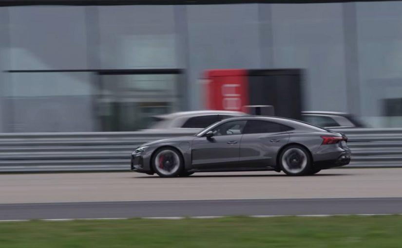 Ken Block Hoons RS e-tron GT, Teases 'Electrickhana' Video