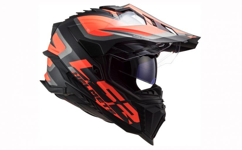 New LS2 MX701 Explorer Dual Sports Helmet