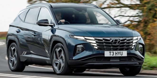 Hyundai Tucson crowned 'Car of the Year'