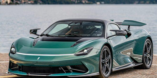 Battista EV supercar wins prestigious award
