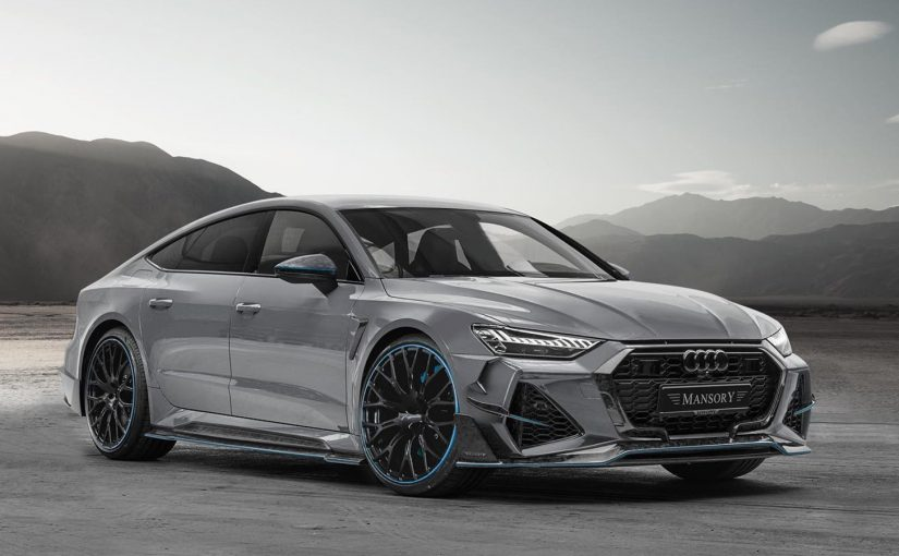 Mansory RS7 is 769 BHP of Unassuming Aggression