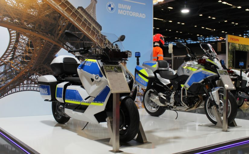 Electric Police BMW CE 04 and F 900 XR Premiered